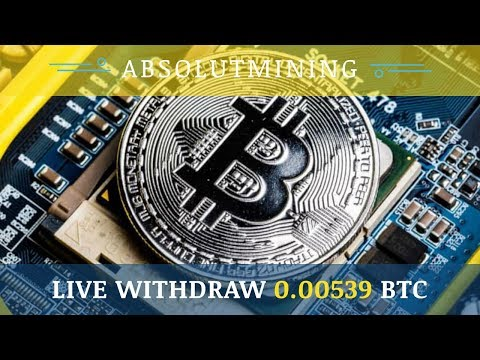 AbsolutMining.com отзывы 2019, обзор, Live Withdraw 0.000539 BTC, get 100 GHs for free