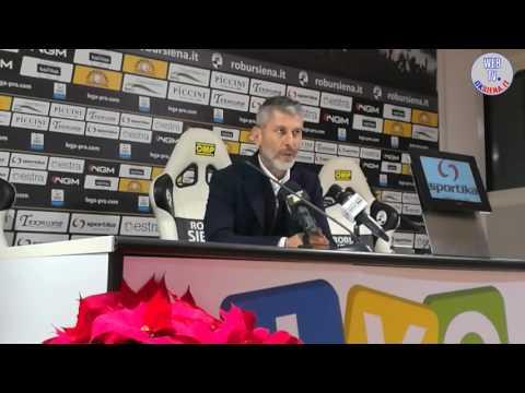 Robur Siena-Pontedera 2-1 - Interviste - 2016