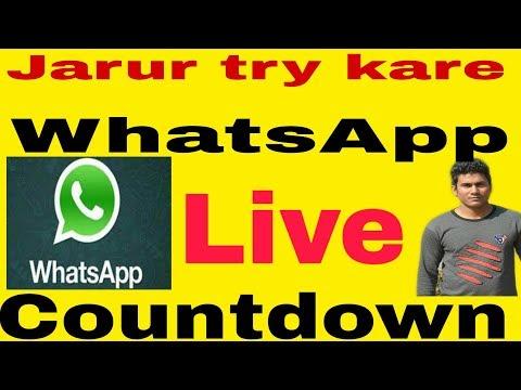 Countdown Whatsapp