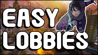 HOW TO GET THE EASIEST LOBBIES IN APEX!