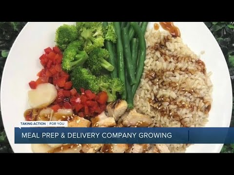 Meal prep and delivery company giving back