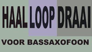 Haal Loop Draai voor Bassaxofoon