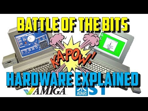 Commodore Amiga vs Atari ST: Part 1 Hardware & Operating systems explained