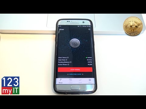 Passively mine cryptocurrency with my android 2020