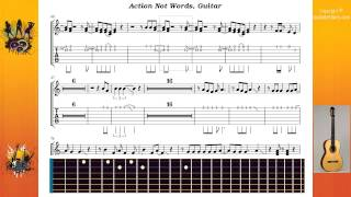 Action Not Words - Def Leppard - Guitar