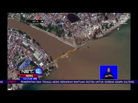 Inilah Foto-Foto Dari Satelite Globe Pasca Gempa Donggala Mengguncang-NET12