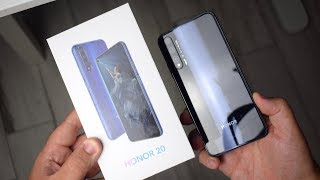 Honor 20, video Recensione