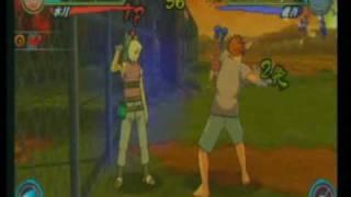 NA3: Suigetsu (Rockman) vs Juugo (Ultimate Fighter) AD Hoc Party Casuals