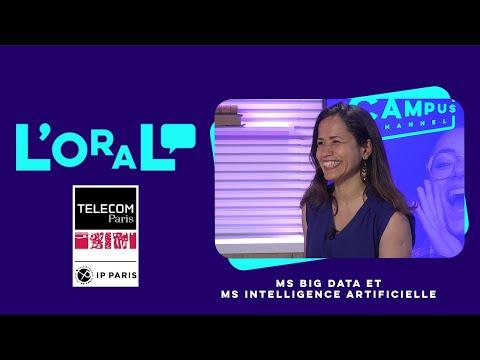 L'oral : MS Big Data : gestion et analyse de données massives