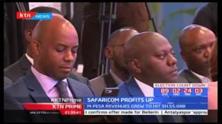 Safaricom profits rise to Sh45.1Bn with Safaricom extends Bob Colleymore's term