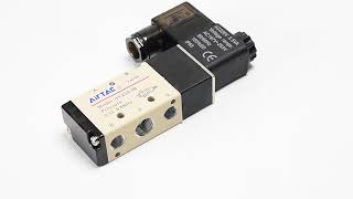 Air Single Solenoid and Double Solenoid Valves - 11.6x6.6x3.5 cm