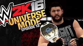 WWE 2K16 Universe Mode: Episode 13 - Monday Night Raw (XBOX One / PS4 Gameplay)