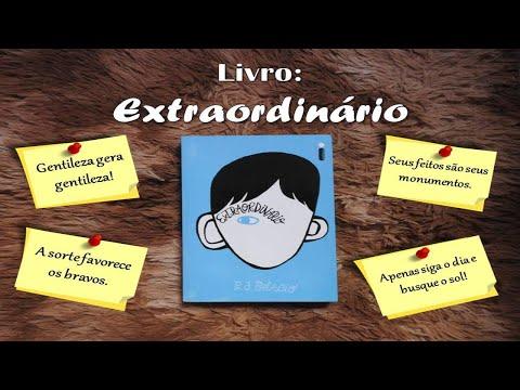 Livro Extraordinário - R.J. Palacio