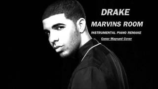 Drake   Marvins Room [Piano Instrumental Remake]