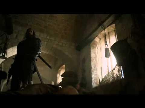 The Hound saves Sansa (HD + Spanish Sub scene)