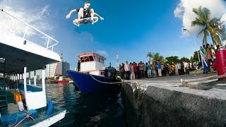 Street Skating On Boats In The Maldives with Nick Garcia & Friends  |  ISLAND HOPPING Part 1