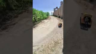 Failsafed on the Train Tracks! #FPV #Drone #Shorts