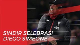 Atletico Madrid Sukses Kalahkan Liverpool, Juergen Klopp Beri Respon Selebrasi Diego Simeone