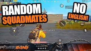 SQUADS with RANDOMS - THEY DIDN