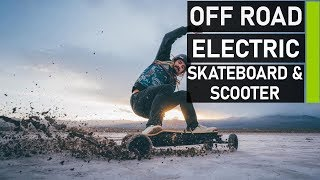Top 10 Best Off Road Electric Skateboard & Scooter