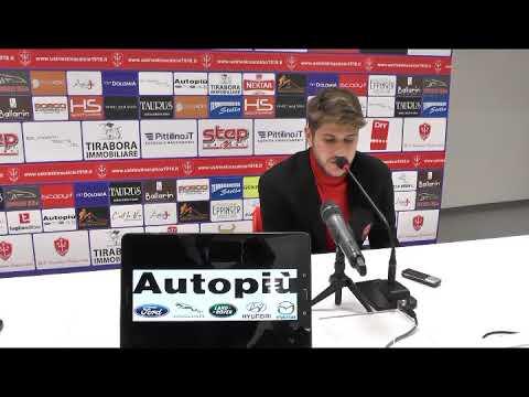 Sala stampa Triestina-Cesena: Paulinho