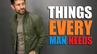 7 Things EVERY GUY Needs In His Wardrobe! (Fall Style Essentials)