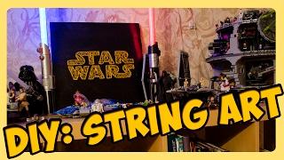 DIY: String Art - Star wars| Стринг арт - Звёздные войны