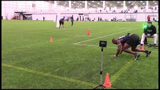 2021 National Scouting Combine DB Combine Testing