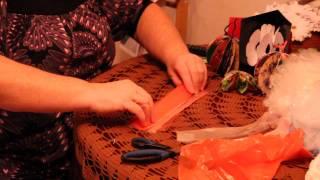 Цветы из полиэтиленовых пакетов своими руками - как украсить комнату