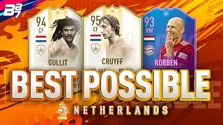 BEST POSSIBLE NETHERLANDS TEAM! W/ PRIME MOMENTS GULLIT AND CRUYFF!   FIFA 19 ULTIMATE TEAM