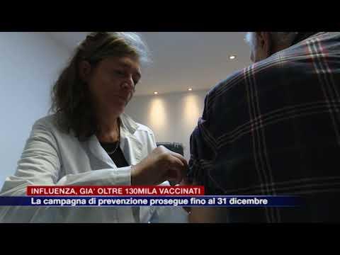 Etg - Influenza, la campagna vaccinale prosegue per tutto il mese di dicembre