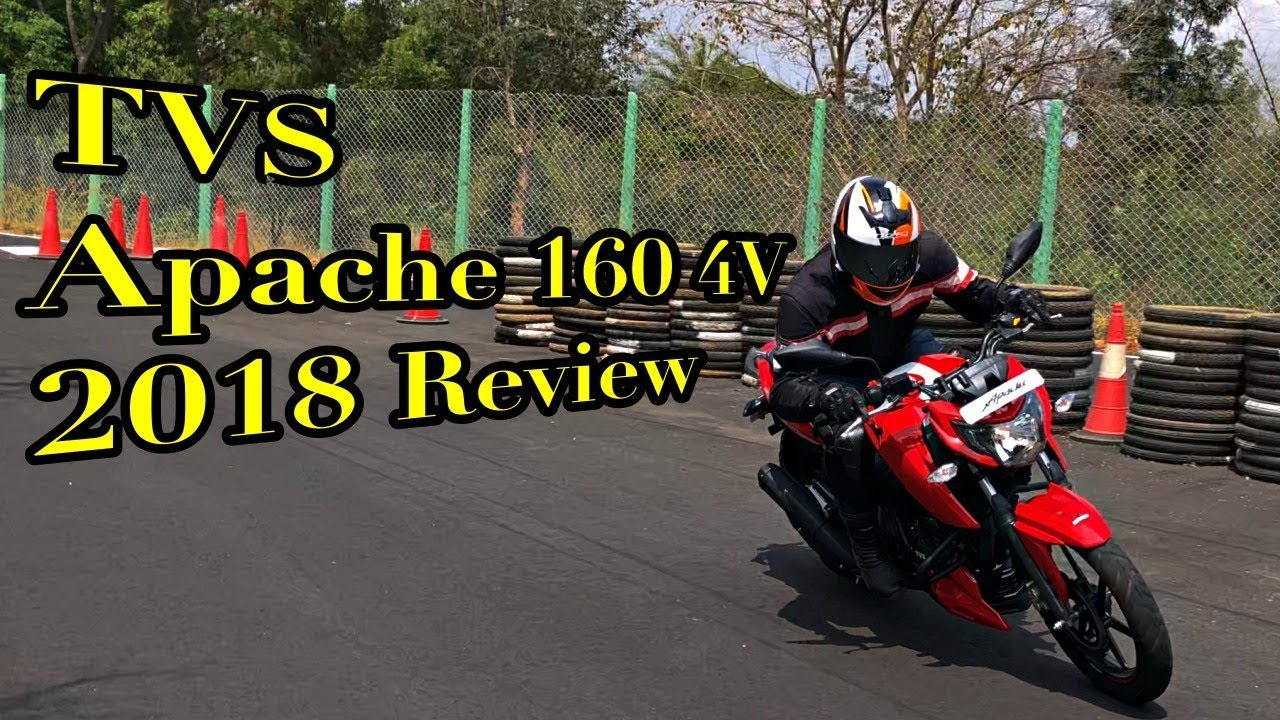 Motoroctane Youtube Video - TVS Apache RTR 160 4V 2018 Review in Hindi | MotorOctane