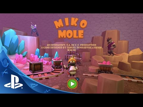 Miko Mole - Gameplay Trailer | PS4 thumbnail