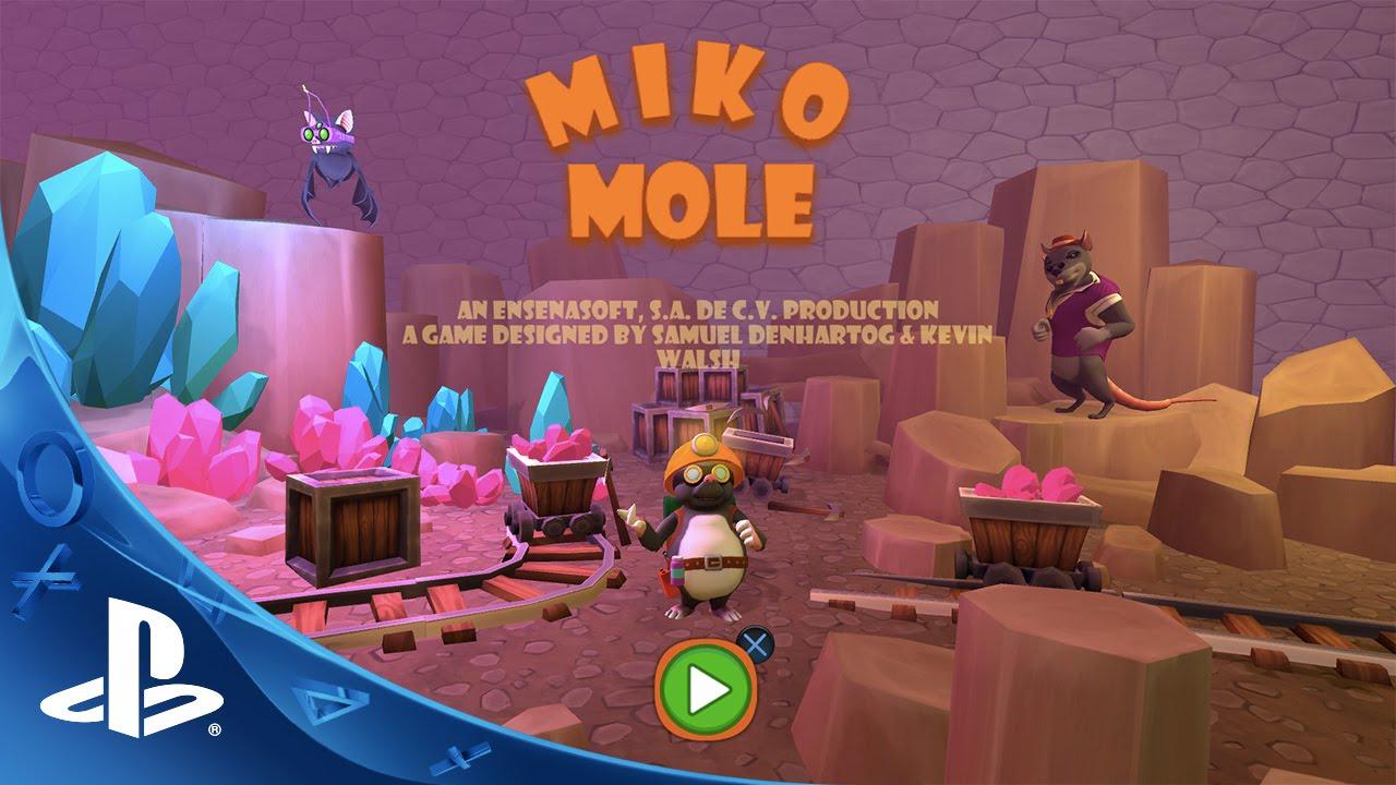 Miko Mole pondrá a prueba tus habilidades, disponible hoy en PS4