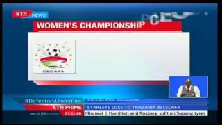 Harambee Starlets lose to Tanzania in CECAFA, KTN Prime 9/20/2016