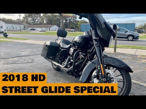 2018 Harley-Davidson Street Glide® Special in Pensacola, Florida - Video 1