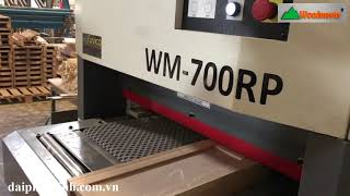 MÁY CHÀ NHÁM THÙNG GIÁ RẺ WOODMASTER   WM-700RP