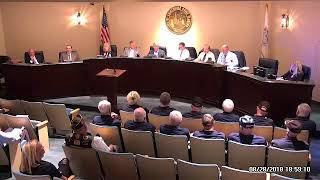 City Commission Meeting - August 28-2018