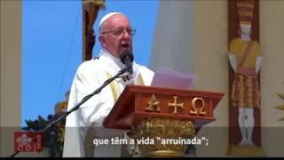 Papa: não há alegria cristã de portas fechadas