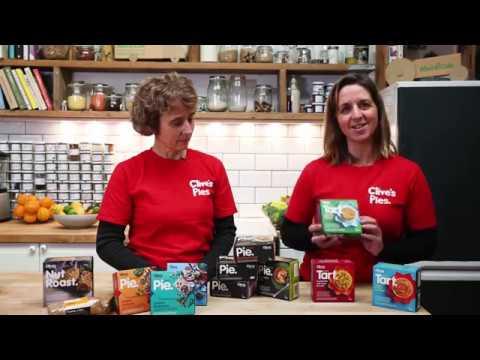 Lentil & Kale Tart, Organic, Clive's (190g)