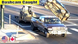 Ultimate North American Cars Driving Fails Compilation - 48 [Dash Cam Caught Video]