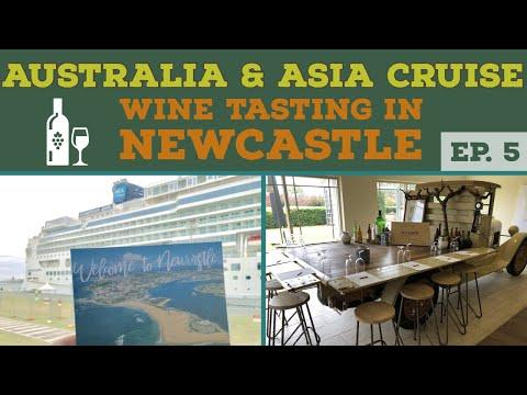 WINE TASTING IN NEWCASTLE l Cruise to Australia l Cruise Vlog l Ep. 5