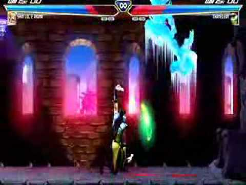 Mortal Kombat vs Street Fighter - Akuma & Ryu vs Cameleon