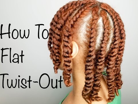 How to | Flat Twist Out | Wet Natural Hair | Night Time Routine | Jane Carter Solutions