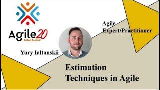 Estimation Techniques in Agile February 3 @ 12:00 pm - 1:00 pm CMT