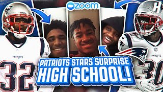 They Really Asked Them That?? McCourty Twins REACT to HS Football Team's Questions | The Drop In