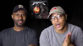DragonForce - Through The Fire And Flames (REACTION!!!)