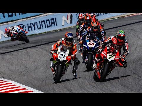 スーパーバイク世界選手権 SBK 第6戦スペイン(カタルニア・サーキット)ドラマティックなレースを振り返るハイライト動画