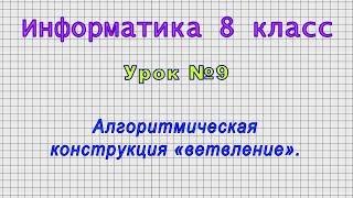 Информатика 8 класс Урок 9