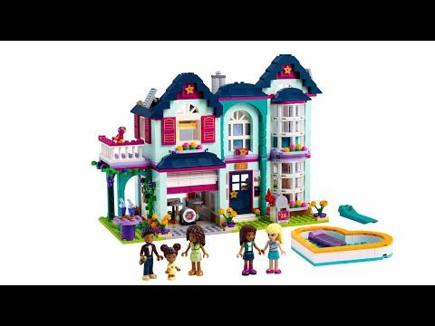 ИНСТРУКЦИЯ Lego friends Дом семьи Андреа